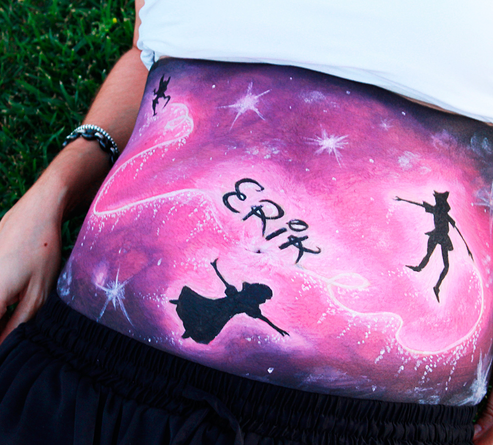Belly Painting Nesa