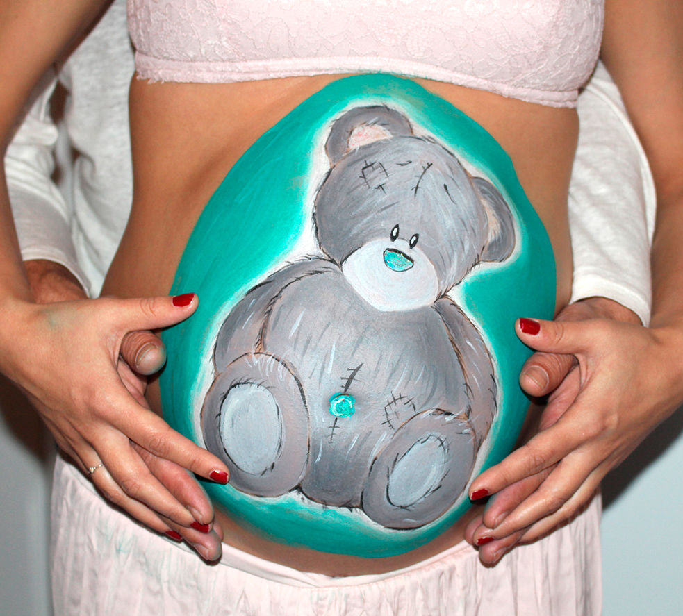 Belly Painting Reme